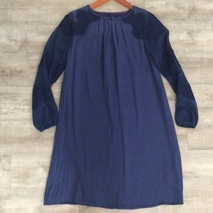 New Boden Navy Dress